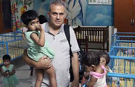 Sozos visits an orphanage