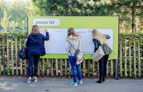 Jesus Is campaign