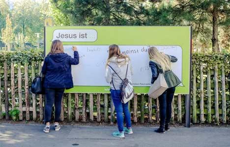 Jesus Is campaign