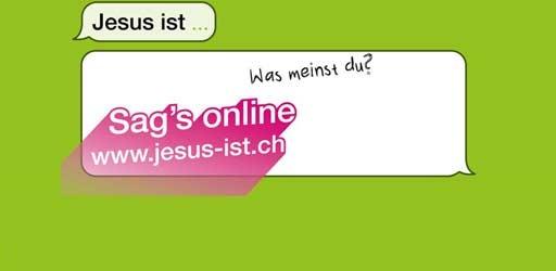 Jesus is …