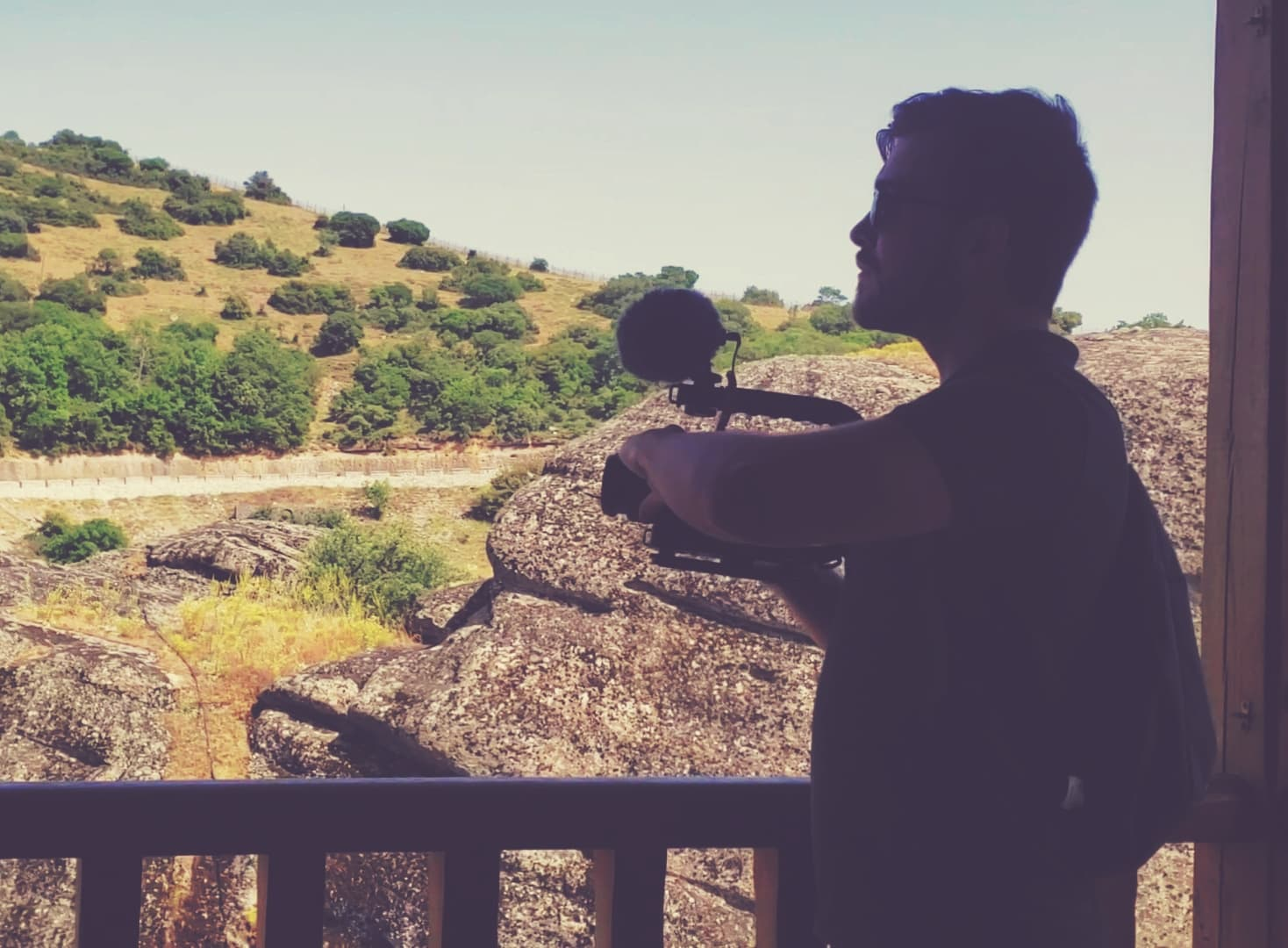Luke Filming