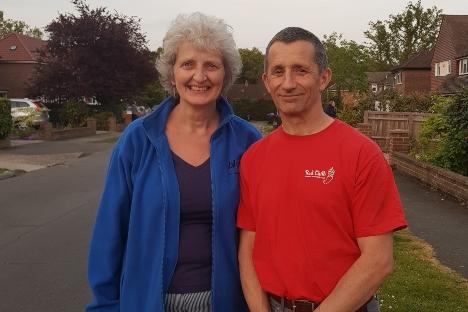 Jan and Gary Palmer